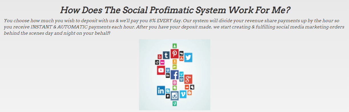 social profimatic review how does it work
