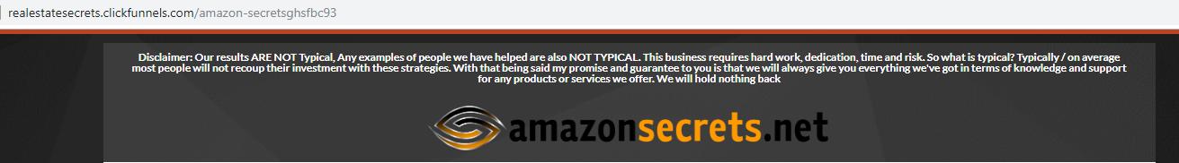 amazon secrets review domain