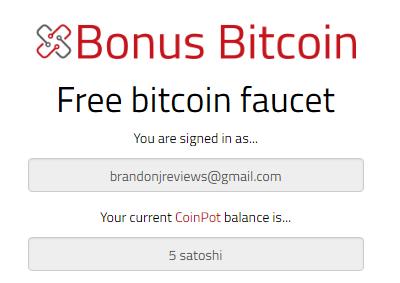 bonus bitcoin review 5 satoshi