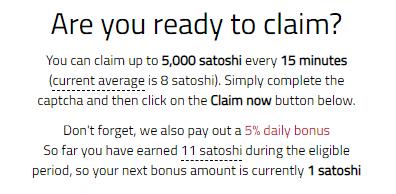 bonus bitcoin review 5000 satoshi