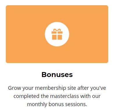 membership method bonuses