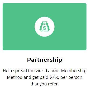 membership method partnership referral program